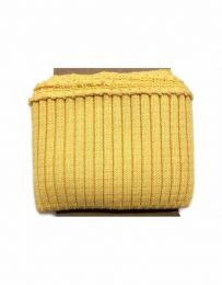 Cuffs Heavy Rib | Yellow