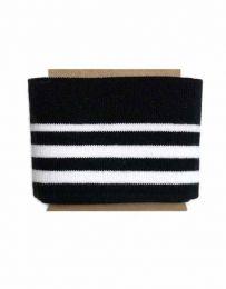 Cuffs Three Stripe   Black