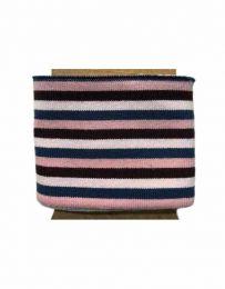 Cuffs Three 5mm Stripe | Bold Pink & Blues