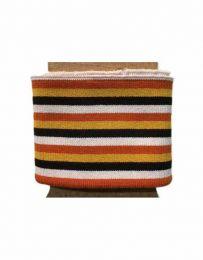 Cuffs Three 5mm Stripe | Bold Autumn Hues