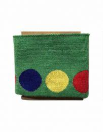 Cuffs Polka Design | Green