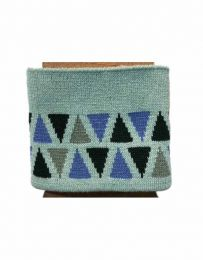 Cuffs Triangle Design | Light Mint