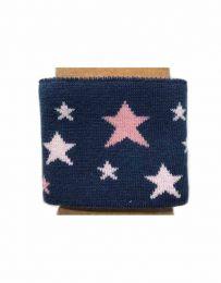 Cuffs Star Design   Blue