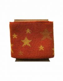 Cuffs Star Design | Burnt Orange