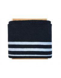 Cuff Cotton Jersey | Navy