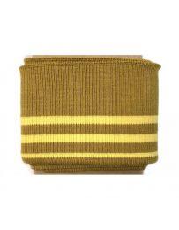 Cuff Cotton Jersey | Mustard