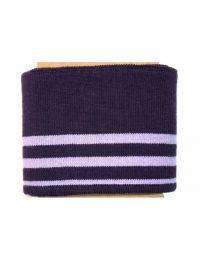 Cuff Cotton Jersey   Rich Purple