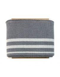Cuff Cotton Jersey | Silver
