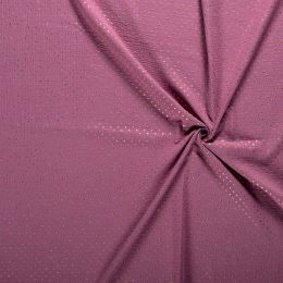 Double Gauze Baby Fabric   Gold Star Rich Pink