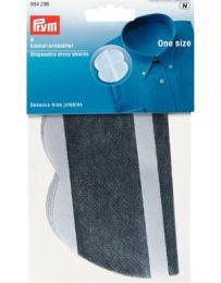 Dress Shields Self-Adhesive One Size Fits All, Grey | Prym