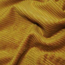 Jumbo Cotton Corduroy Fabric | Ochre