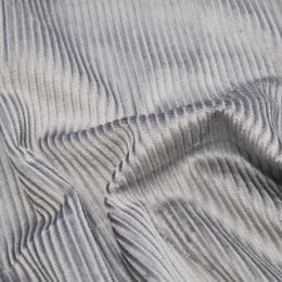 Jumbo Cotton Corduroy Fabric | Grey
