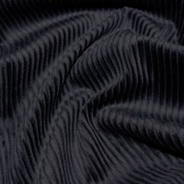 Jumbo Cotton Corduroy Fabric | Navy