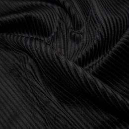 Jumbo Cotton Corduroy Fabric | Black