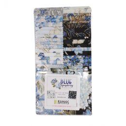 Fabric Strip Pack | Blue Symphony (Metallic)