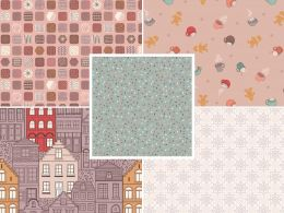The Old Chocolate Shop | Fat Quarter Pack 2