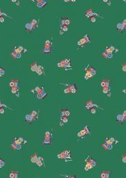 Viking Adventure Fabric | Vikings Green