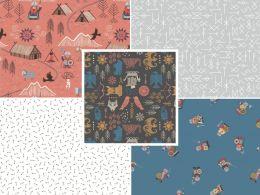 Viking Adventure Fabric | Fat Quarter Pack 1
