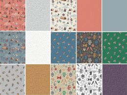 Viking Adventure Fabric | Fat Quarter Pack All Designs