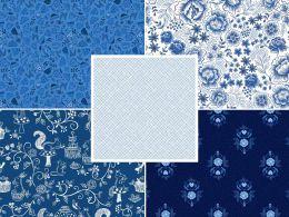 Teatime Fabric | Fat Quarter Pack 3