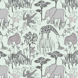 Lewis & Irene Jersey Fabric | Wildlife Spectacular
