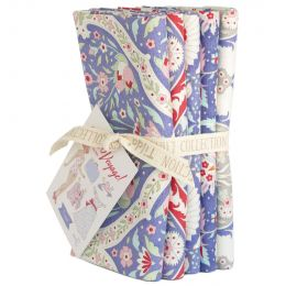 Bon Voyage Tilda Fabric   Fat Quarter Bundle Blue