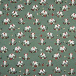 Jersey Cotton Fabric | Baby Elephant Grey
