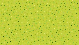 Makower Festive Christmas Fabric | Shooting Star Green