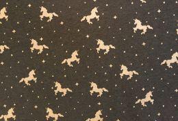 Glitter Jersey Fabric | Unicorn Grey