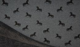 Happy Fleece | Unicorn Dark Grey