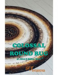 Jelly Roll Rug Pattern Colossal | R J Designs