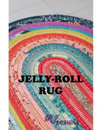 Jelly Roll Rug Pattern | R J Designs