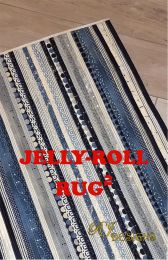 Jelly Roll Rug Pattern Squared   R J Designs