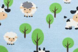 Jersey Cotton Print   Farmland