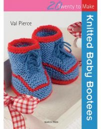Knitted Baby Bootees (Twenty To Make)