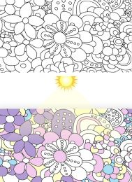 Light Reactive Jersey Fabric | Pop Art Floral