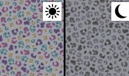 Light Reactive Jersey Fabric | Panther Grey