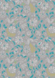 Lindos Fabric | Rhodian Deer Grey