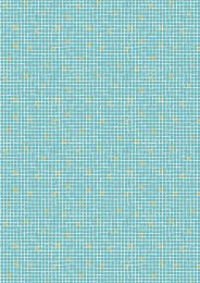 Lindos Fabric | Little Tiles Turquoise