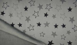 Lizzy Sweatshirt Fabric | Star Grey