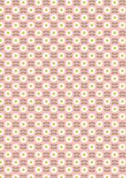 Love Me, Love Me Not | Retro Daisy Pink