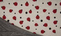 Luxury Sweatshirt Fabric | Lady Bug