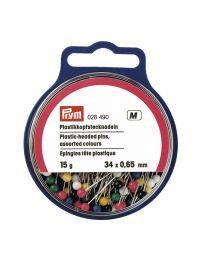 Plastic Headed Pins, Standard - Neon Colour | Prym