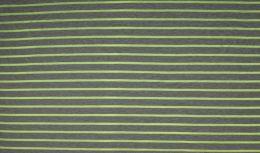 Jersey Cotton Print | Neon Stripes - Lime