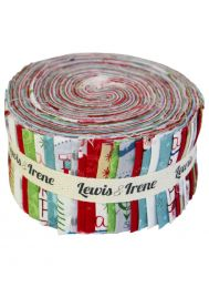 North Pole Christmas Fabric Collection Jelly Roll