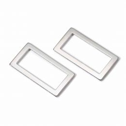 Rectangle Loop For Bags 40mm | Antique Silver | Prym