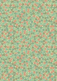 Lewis & Irene Panthera Fabric | Jungle Fern Green
