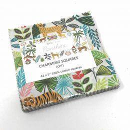 Panthera Fabric | Charming Squares