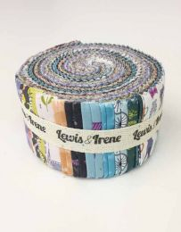 Poodle & Doodle Fabric Jelly Roll created by Lewis & Irene.