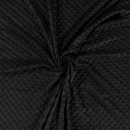 Premium Dimple Fleece   Black